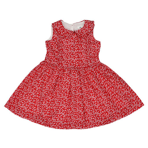 Cherries Cherry Print Dress Red