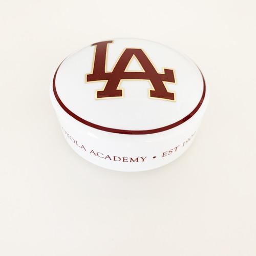 Loyola Academy Porcelain Round Box