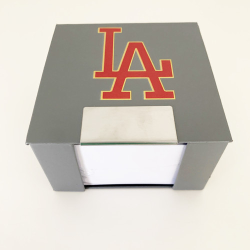 Loyola Academy Note Cube