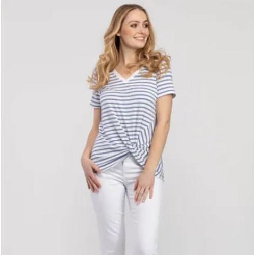 Knotty Striped Top