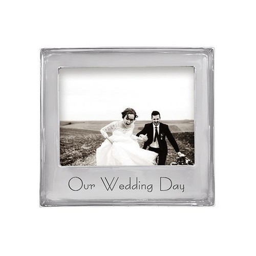 OUR WEDDING DAY Signature 5x7 Frame