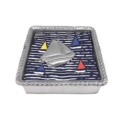 Sailboat Rope Napkin Box