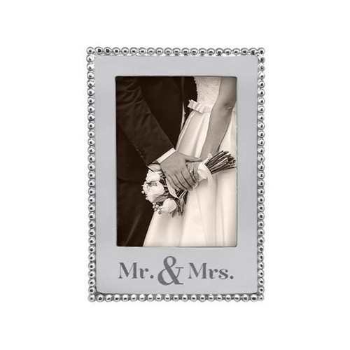 MR. & MRS. 5x7 Vertical Beaded-3914MM