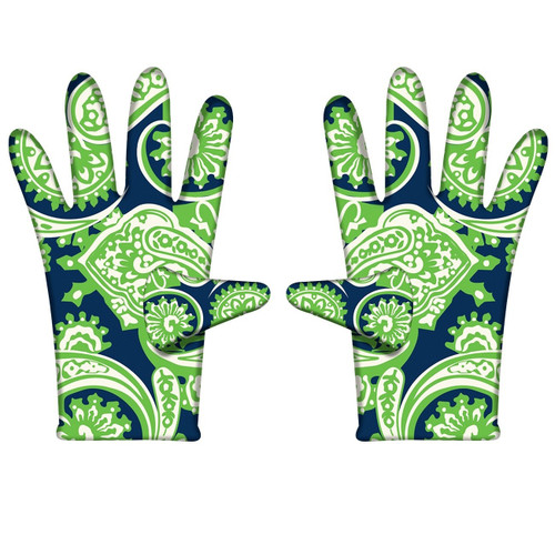 Plentiful Paisley Gloves (various colors available)