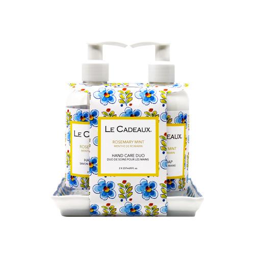 Hand Wash & Hand Cream Gift Set- Rosemary Mint