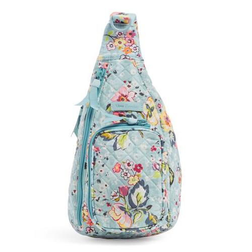 Mini Sling Backpack-Floating Garden