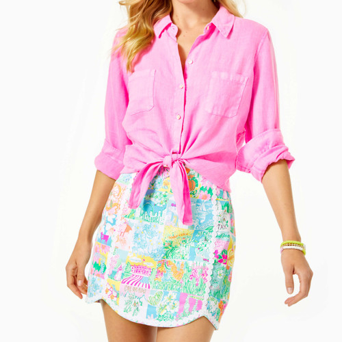 Patty Skort  Multi Pop of Lilly
