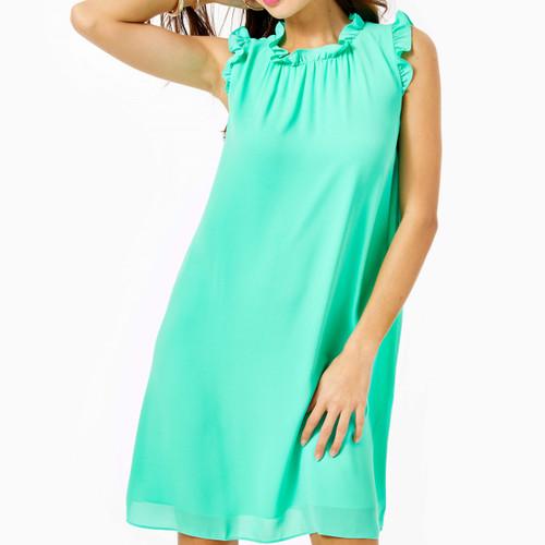 TALISA DRESS-GUSTAVIA GREEN