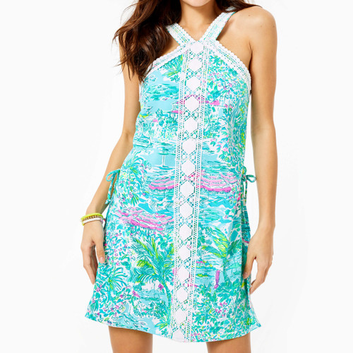 RYDER ROMPER-GUSTAVIA GREEN SUNSHINE CITY