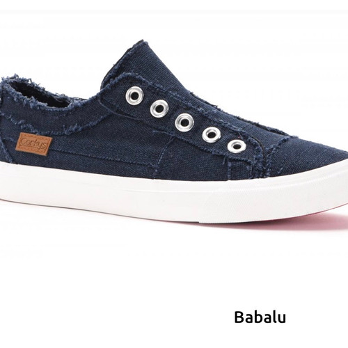 Babalu Slip On Sneaker- Navy