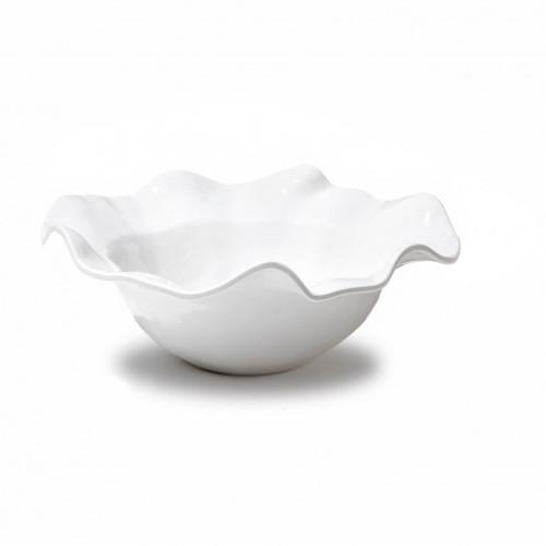 VIDA Havana bowl (lg) white
