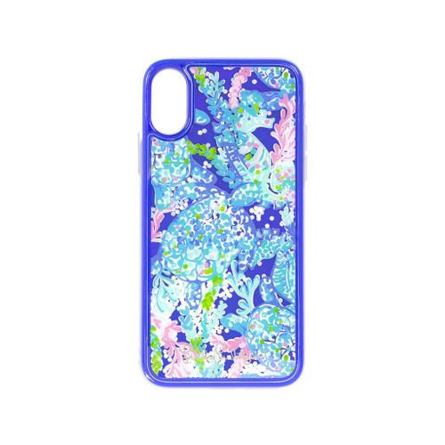 iPhone Case XS Glitter Turtle Villa