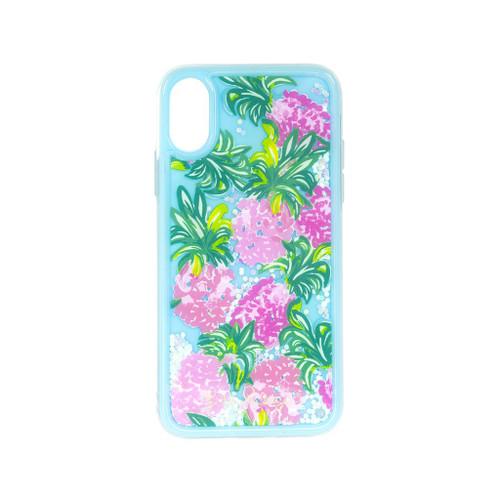 iPhone Case XS Glitter Pineapple Shake