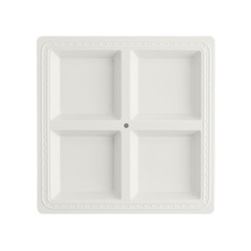 Square Melamine Divided Server