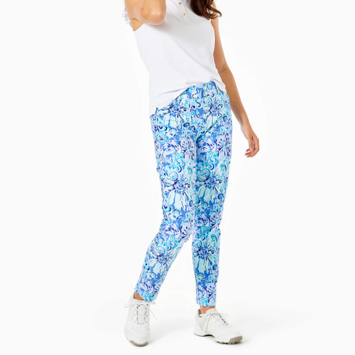Cameron Pant Upf 50+ Saltwater Blue Suns Out Funs Out Golf