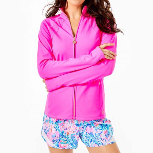 Tennison Full-Zip Jacket Upf 50+ Raz Berry