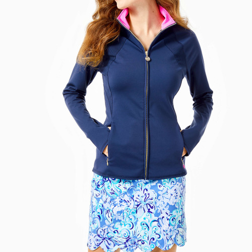 Tennison Full-Zip Jacket Upf 50+ True Navy