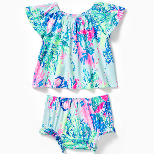Tabitha Infant Set Multi Beach You To It