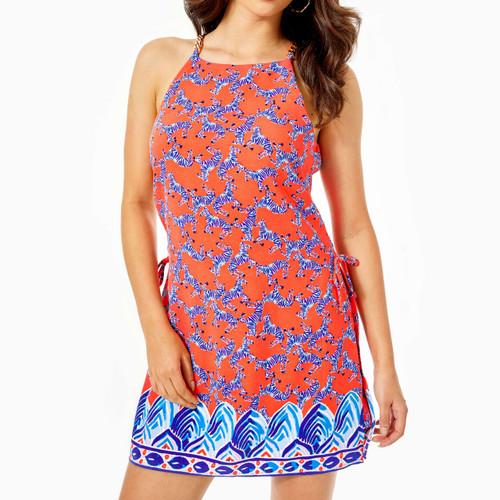Pearl Romper Dress Picante Coral Heebee Zeebees Engineered