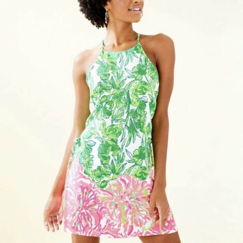 Pearl Romper Dress Resort White Flamingle Engineered