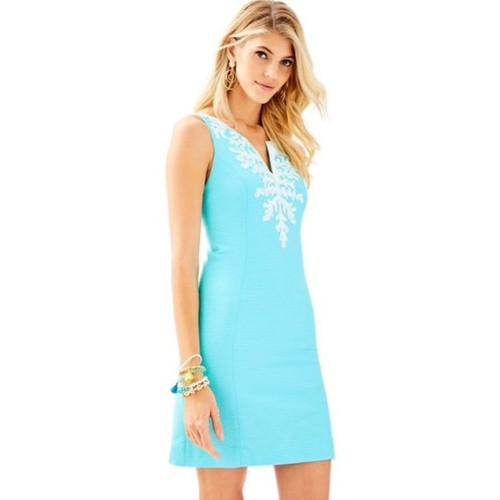 Gabby Shift Dress Seasalt Blue