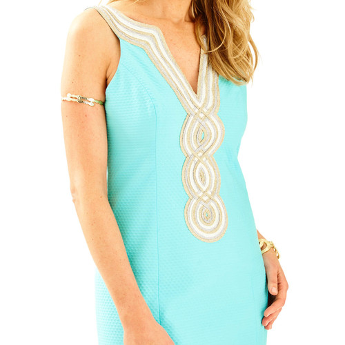 Valli Shift Dress Serene Blue