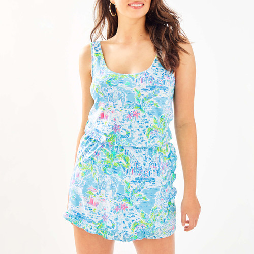 Analee Romper Multi What A Lovely Place