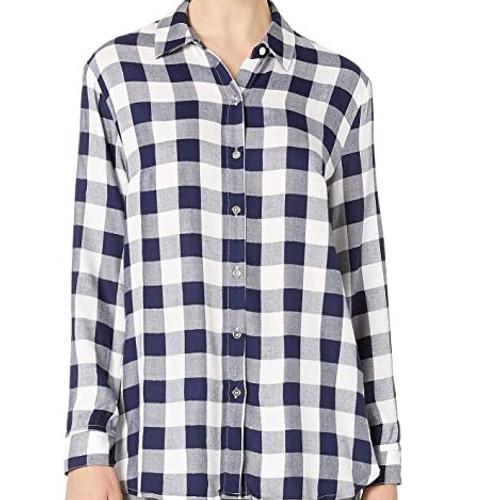 Loose Fit Long Shirt - Nautical