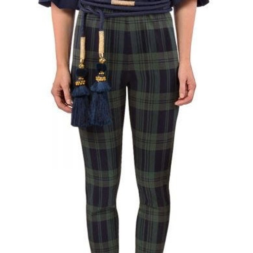 Pull On Pants - Duke of York  Navy/Green