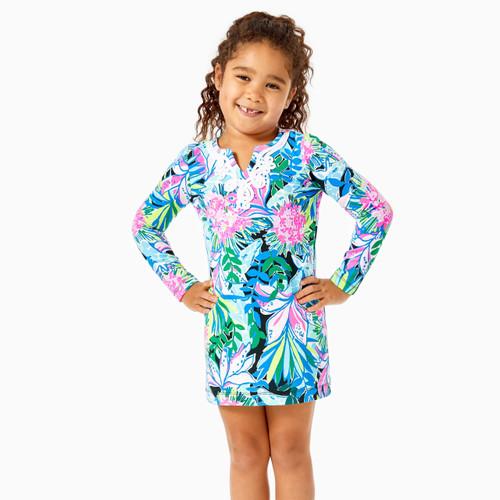Mini Long Sleeved Harper Dress   Onyx    You Me And Giraffee
