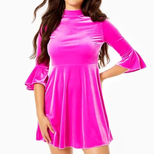 Jalene Dress Elderberry