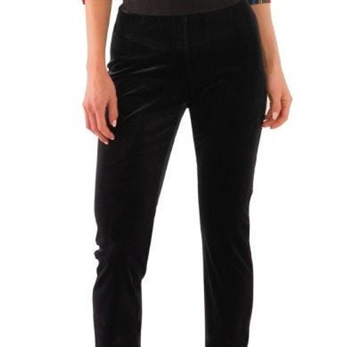 Pull On Pant Silky Black