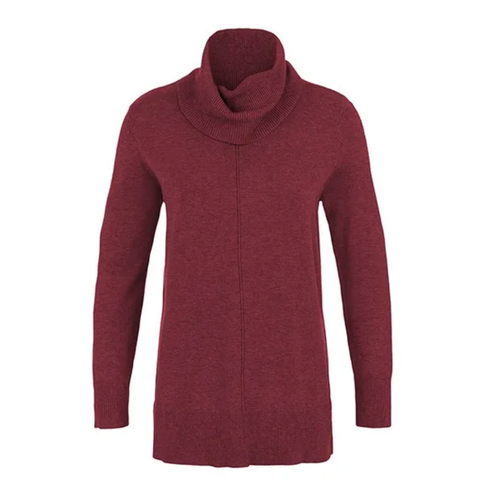 Cowl Neck Sweater  H Sangria