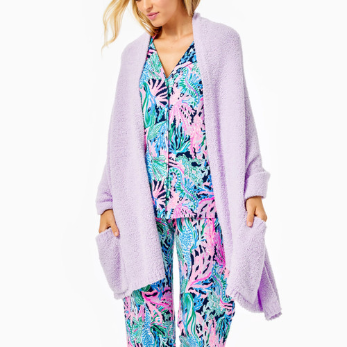 Teddy Wrap   Light Orchid