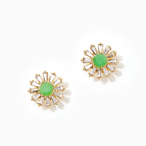 Fizz Earrings Juniper Green