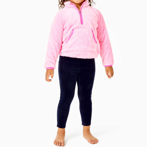 Little Skipper Sherpa Popover   Pink Blossom