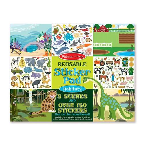 Reusable Sticker Pad - Habitats-4196