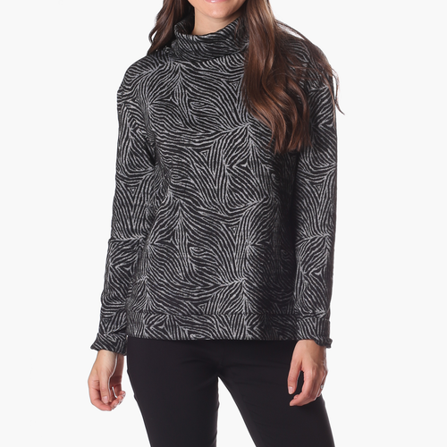 Brandy Pullover Black Safari