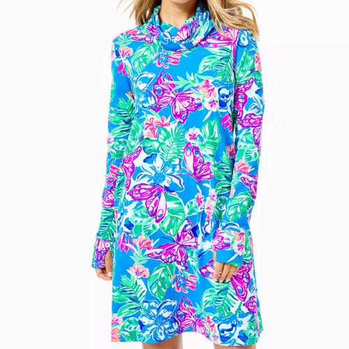 Lilshield Upf 50+ Dress   Pundy Blue   Isle Be Back