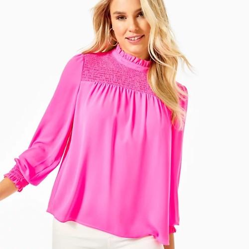 Rhiannon Top  Cockatoo Pink