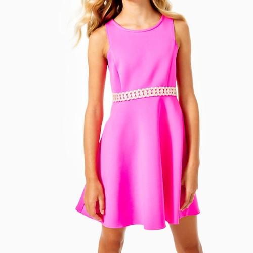 Girls Addyson Dress   Raz Berry