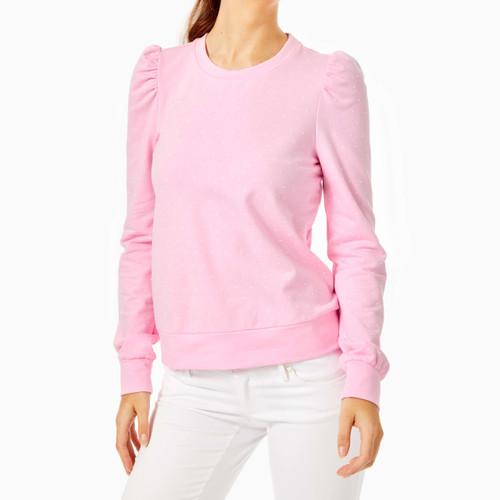 Jansen Pearl Sweatshirt Heathered Pink Blossom