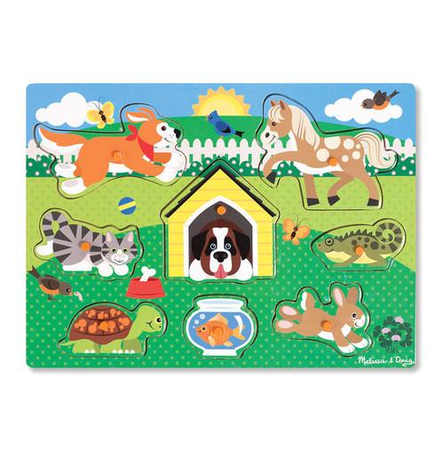 Pets Peg Puzzle-9053