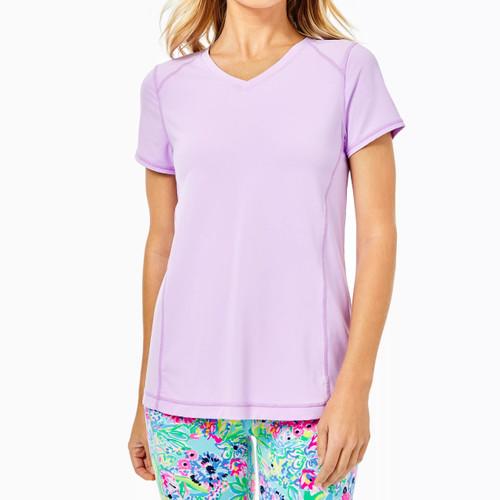 Renay Active Tee Upf 50+ Purple Iris
