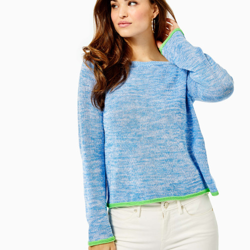 Zaylia Sweater Zanzibar Blue Marl