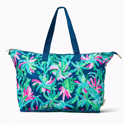 Getaway Packable Tote  Macaw Blue  Sweet Escape