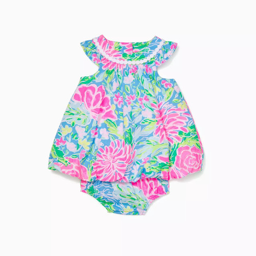 Baby Paloma Bubble Dress Pink Blossom Try Your Zest