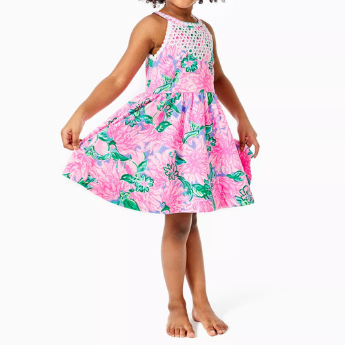 Little Kinley Dress Pink Blossom Try Your Zest