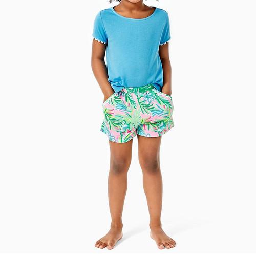 Jenesis Shorts Pelican Pink Coconut Row