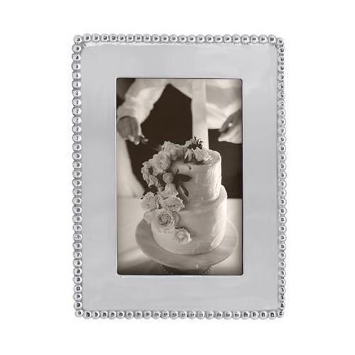 Beaded 4 x 6 Engravable Frame-3790